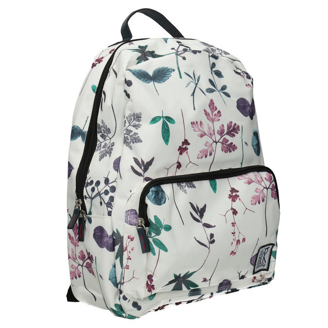 Rucksack mit Blumenmuster, mehrfarbe, 969-0085 - 13