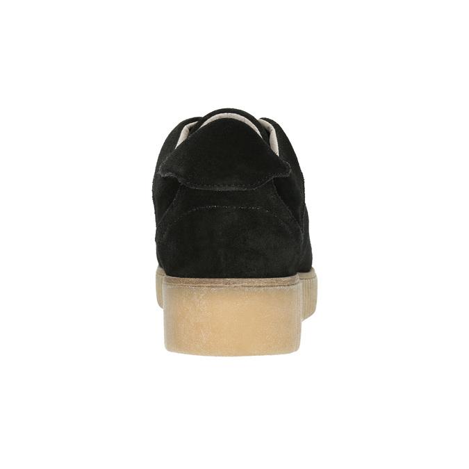 Leder-Sneakers mit markanter Flatform bata, Schwarz, 523-6604 - 17