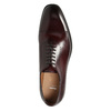 Herren-Lederhalbschuhe im Oxford-Look bata, Rot, 826-5683 - 26