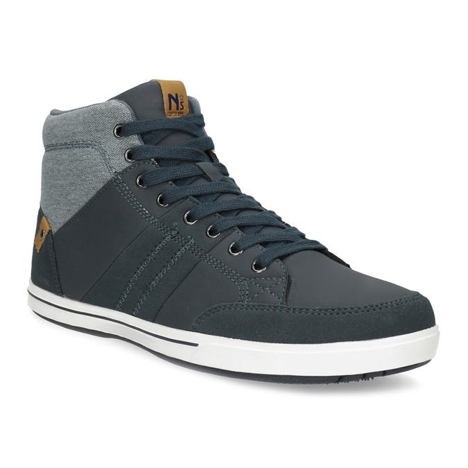 Blaue, knöchelhohe Sneakers north-star, Blau, 841-9608 - 13