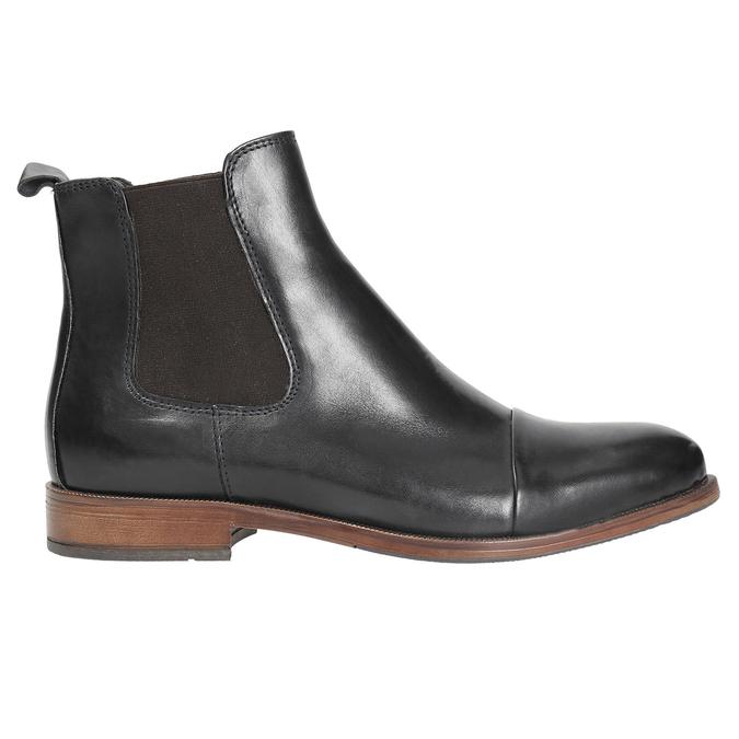 Damen-Chelsea-Boots aus Leder bata, Schwarz, 594-9636 - 26