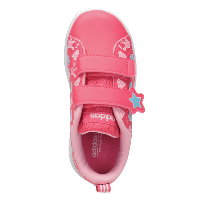 Mädchen-Sneakers mit Print adidas, Rosa, 101-5533 - 15