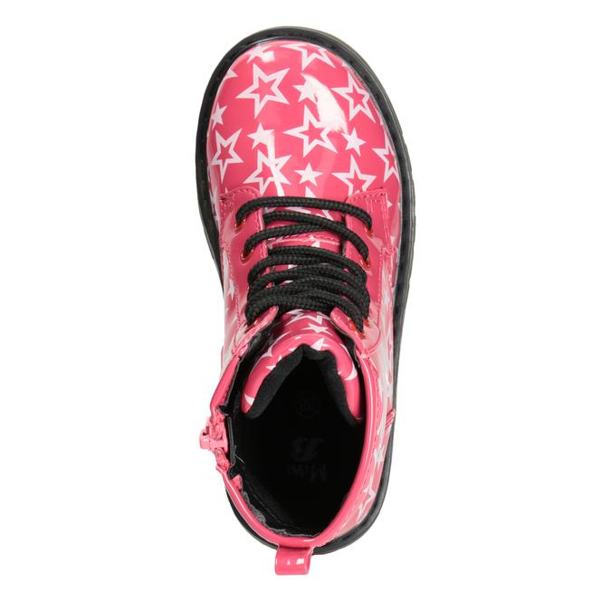 Mädchen-Schnürschuhe mit Sternchen mini-b, Rosa, 291-5167 - 15