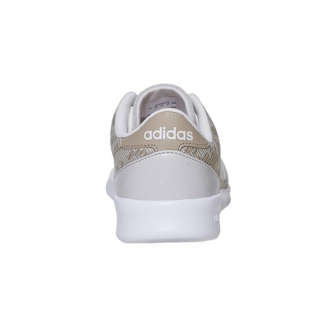Damen-Sneakers mit Muster adidas, Beige, 503-3111 - 17