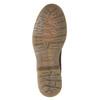 Damen-Chelsea-Boots aus Leder bata, Braun, 596-3680 - 17