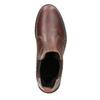 Damen-Chelsea-Boots aus Leder bata, Braun, 596-3680 - 15