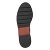 Weinrote Chelsea Boots aus Leder bata, Rot, 596-5657 - 17