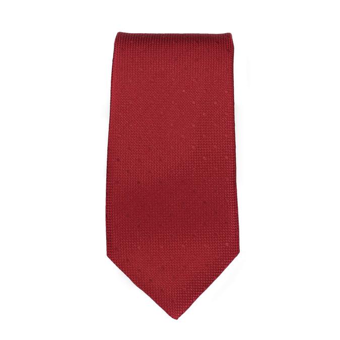 Set, bestehend aus Krawatte, Einstecktuch und Manschettenknöpfen bata, Rot, 999-5291 - 26