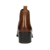 Damen-Chelsea-Boots aus Leder mit Absatz vagabond, Braun, 614-4020 - 17
