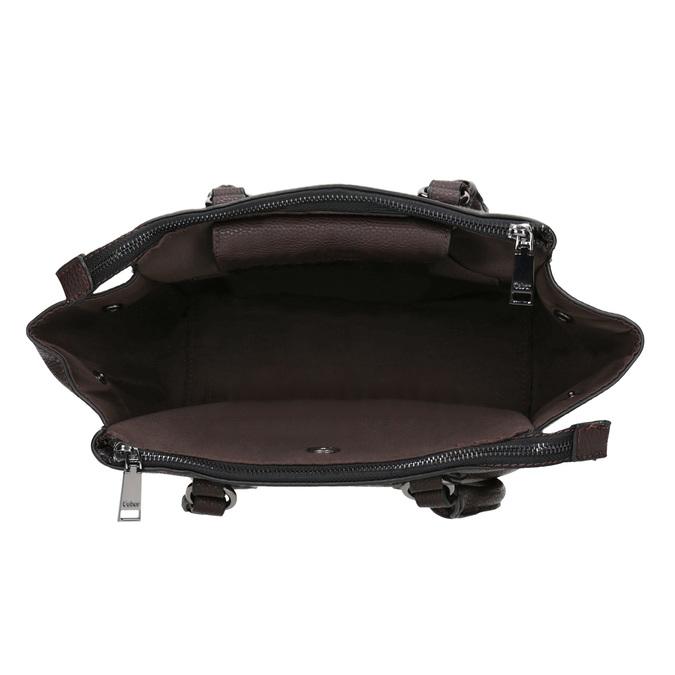 Braune Damenhandtasche mit Gurt gabor-bags, Braun, 961-6039 - 15