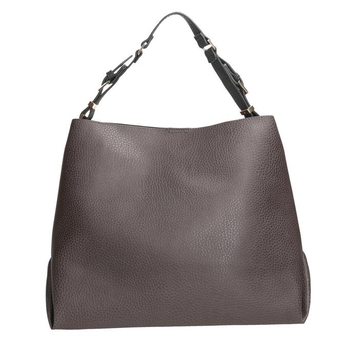 Braune Damenhandtasche cafe-noir, Braun, 961-4096 - 16