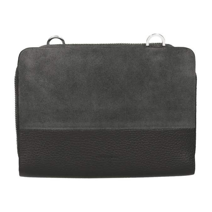 Crossbody-Damenhandtasche aus Leder royal-republiq, Grau, 963-2050 - 26