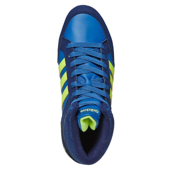 Knöchelhohe Kinder-Sneakers adidas, Blau, 401-9291 - 19