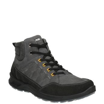 Herren-Outdoor-Schuhe aus Leder weinbrenner, Grau, 846-2647 - 13