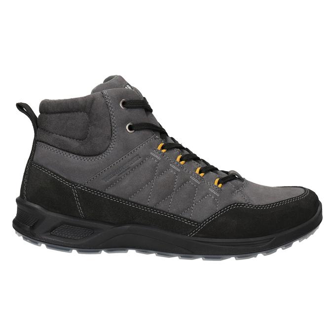 Herren-Outdoor-Schuhe aus Leder weinbrenner, Grau, 846-2647 - 26