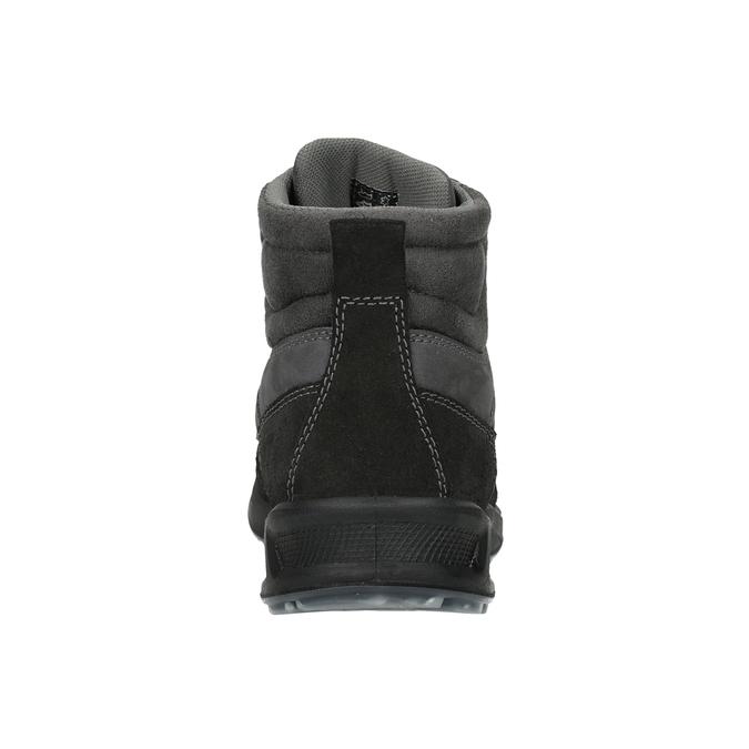 Herren-Outdoor-Schuhe aus Leder weinbrenner, Grau, 846-2647 - 16
