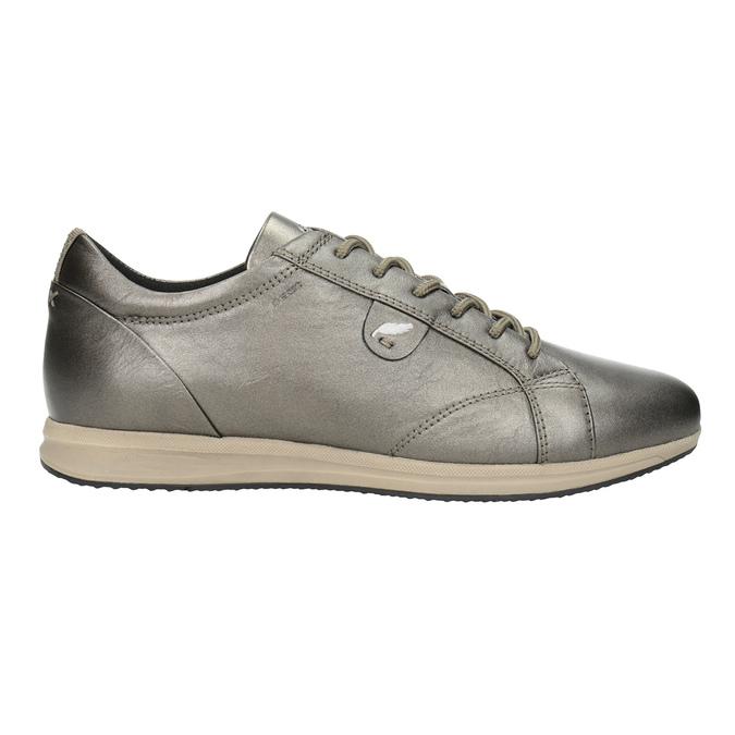 Damen-Sneakers aus Leder geox, Braun, 526-8090 - 26