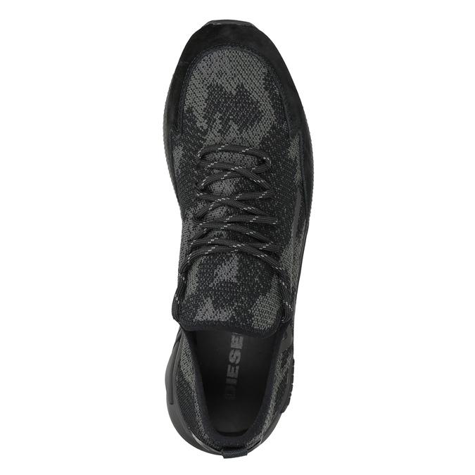 Herren-Sneakers diesel, Schwarz, 809-6602 - 15
