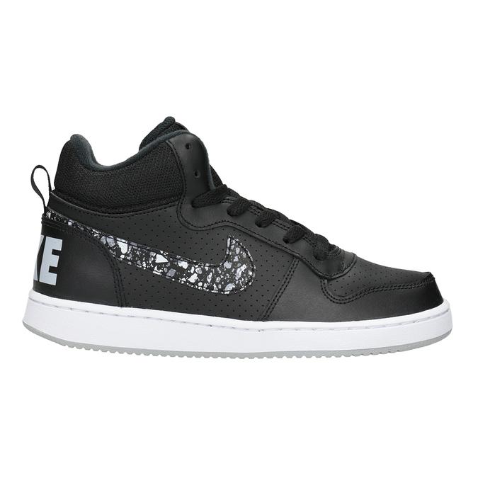 Knöchelhohe Kinder-Sneakers nike, Schwarz, 401-0532 - 26
