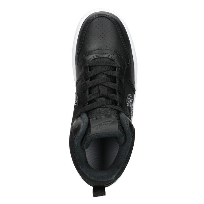 Knöchelhohe Kinder-Sneakers nike, Schwarz, 401-0532 - 15