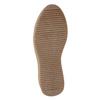 Damen-Flatform-Schuhe aus Leder bata, Grau, 596-2673 - 17