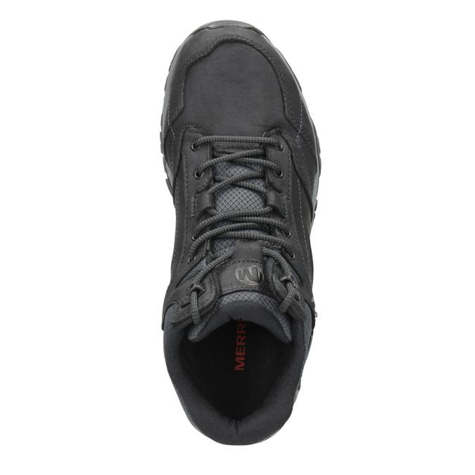 Knöchelschuhe aus Leder im Outdoor-Stil merrell, Schwarz, 806-6569 - 15