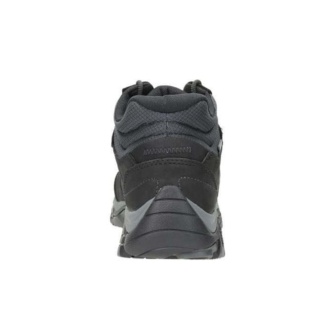 Knöchelschuhe aus Leder im Outdoor-Stil merrell, Schwarz, 806-6569 - 16
