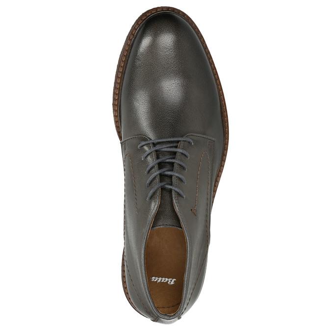 Chukka Boots aus Leder bata, Grau, 826-3919 - 16
