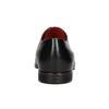 Lederhalbschuhe mit roten Details conhpol, Schwarz, 824-6993 - 16