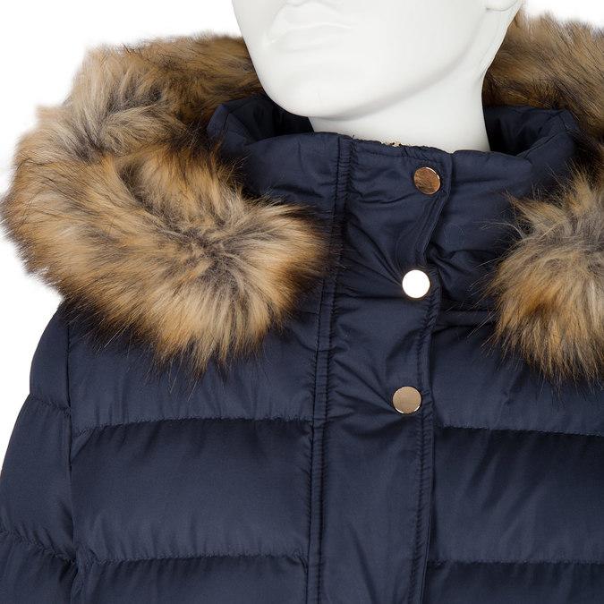 Damen-Winterjacke mit Fell bata, Blau, 979-9134 - 16
