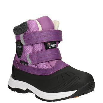 Violette Mädchen-Schneestiefel, Violett, 399-5018 - 13