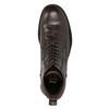 Knöchelschuhe aus Leder bata, Braun, 894-4694 - 15