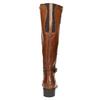 Braune Lederstiefel bata, Braun, 596-4665 - 17