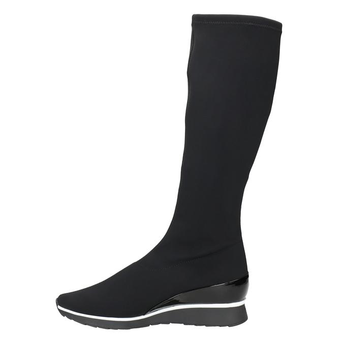 Textil-Stiefel für Damen hogl, Schwarz, 699-6032 - 15