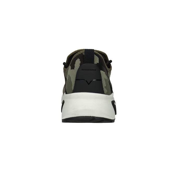 Herren-Sneakers mit Muster diesel, Grűn, 809-7602 - 16