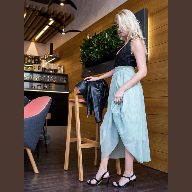 Elegante Damensandalen mit Steinchen bata, Schwarz, 729-6611 - 18