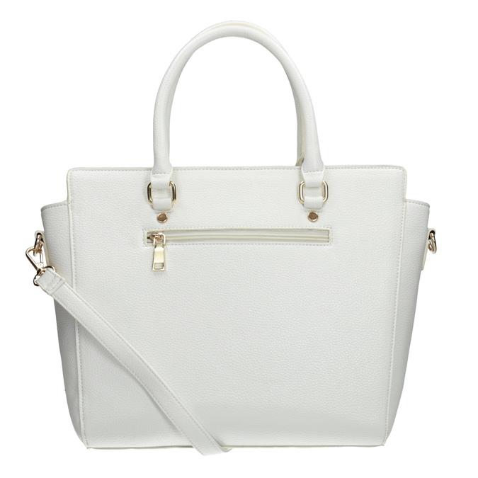 Weiße Damenhandtasche bata, Weiss, 961-1845 - 16