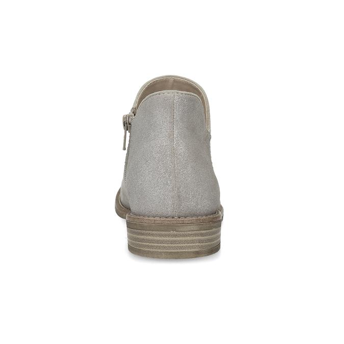 Damenstiefeletten bata, Grau, 596-2685 - 15