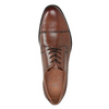 Herren-Lederhalbschuhe mit Steppung bata, Braun, 826-4995 - 15
