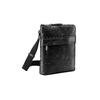 Schwarze Crossbody-Tasche aus Leder bata, Schwarz, 964-6288 - 13