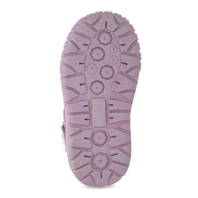 Mädchen-Sneakers aus Leder bubblegummer, Rosa, 123-5601 - 18