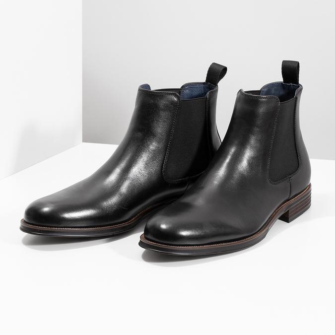 Chelsea Boots aus Leder bata, Schwarz, 894-6400 - 16